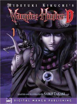Hideyuki Kikuchi's Vampire Hunter D Manga Series, Volume 1 (Part 1 of 2) - Nook Color Edition