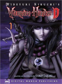 Hideyuki Kikuchi's Vampire Hunter D Manga Series, Volume 1 (Part 2 of 2) - Nook Color Edition