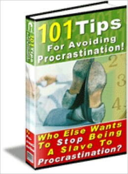101 Tips For Avoiding Procrastination