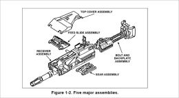 MK 19, 40-mm GRENADE MACHINE GUN, MOD 3, Plus 500 free US military manuals and US Army field manuals when you sample this book