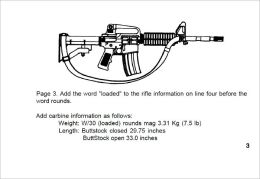 Operator's Manual W/COMPONENTS LIST RIFLE, 5.56-MM, M16A2 W/E AND CARBINE, 5.56-MM, M4 W/E, Plus 500 free US military manuals and US Army field manuals when you sample this book