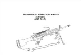 TECHNICAL MANUAL, UNIT AND DIRECT SUPPORT MAINTENANCE MANUAL FOR MACHINE GUN, 5.56MM, M249 w/EQUIP, (AR ROLE), (LMG ROLE), Plus 500 free US military manuals and US Army field manuals when you sample this book