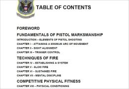 Pistol Training Guide, Plus 500 free US military manuals and US Army field manuals when you sample this book