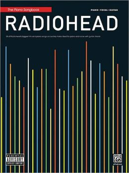 Radiohead Piano Songbook - Piano - Vocal - Guitar