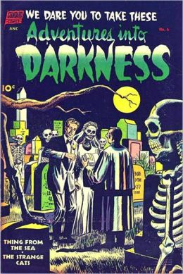 Vintage Horror Comics: Adventures Into The Darkness No. 6