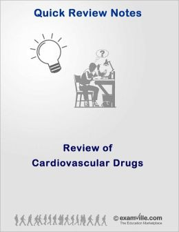 Quick Review of Cardiovascular Drugs