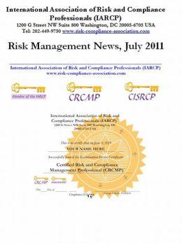 Risk Management News, July 2011
