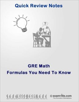 General GRE: Math Formulas You Need To Know