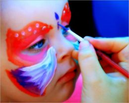 FACE PAINTING THE SIMPLE WAY: CREATING SIMPLE DESIGNS