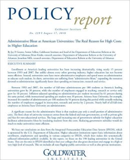 Administrative Bloat at American Universities: The Real Reason for High Costs in Higher Education