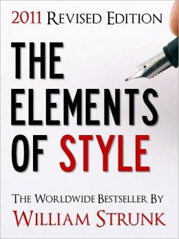 The Elements of Style, 2011 Edition (Special Nook Edition)