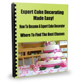 How To Become A Expert Cake Decorator Where To Find The Best Classes