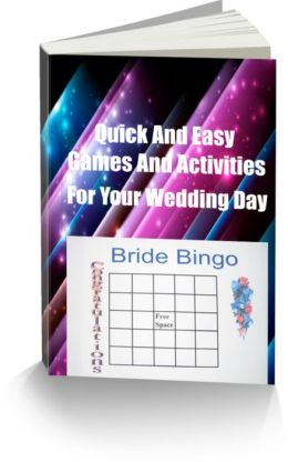 Quick And Easy Games And Activities For Your Wedding Day