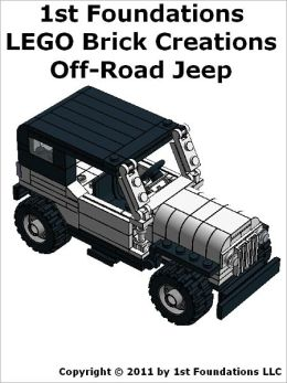 1st Foundations LEGO Brick Creations - Off Road Jeep Instructions