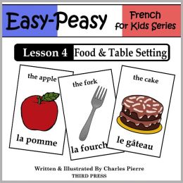 French Lesson 4: Food & Table Setting (Learn French Flash Cards)