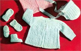 Over 15 Vintage Homemade Crochet Patterns For Baby Outfits