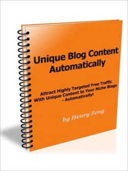 Attract Highly Targeted Free Traffic With Unique Content to Your Niche Blogs - Automatically
