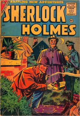Sherlock Holmes in the Final Curtain (Electronic Comic Book)