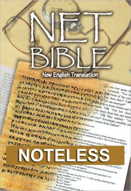 NET Bible First Edition (noteless)