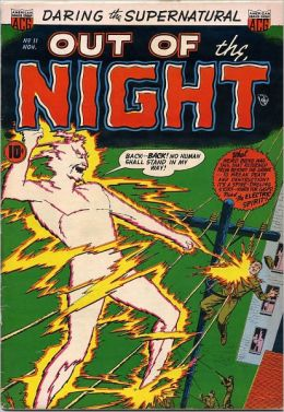 Vintage Horror Comics: Out of the Night: No. 11 Circa 1953: The Weird Winger