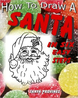 How To Draw A Santa In Six Easy Steps