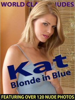 Kat - Blonde in Blue - Nude Female Photos