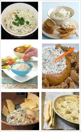 300 Outstanding Dip Recipes - Here you will find dips for almost every kind of food that you can think about dipping.