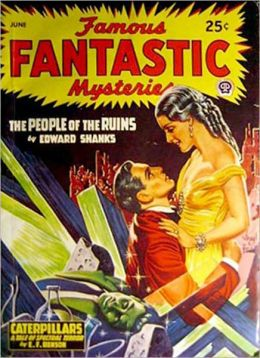 The People Of The Ruins: A Science Fiction Classic By Edward Shanks!