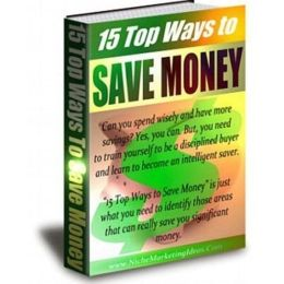 Money Saving - 15 Top Ways to Save Money