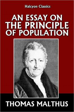 essay principle population thomas robert malthus