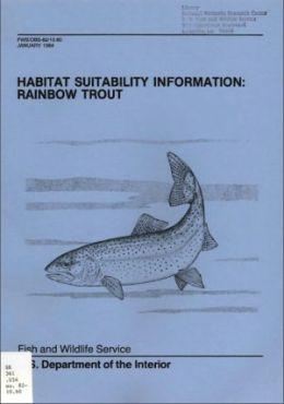 Habitat Suitability Information: Rainbow Trout