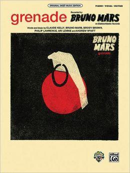 Grenade - Piano - Vocal - Guitar