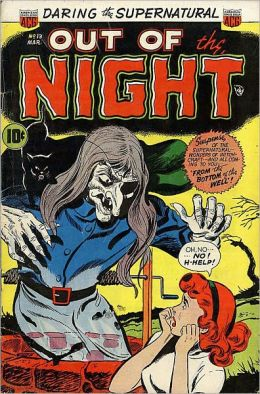Vintage Horror Comics: Out of the Night No. 13 Circa 1953 : The Screaming Skulls