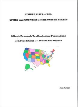 List of All Cities and Counties of the United States