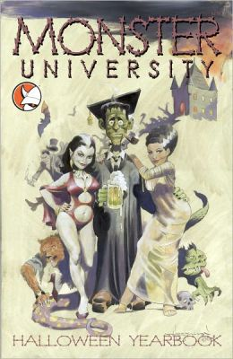 Monster University Halloween Yearbook (Comic Book)