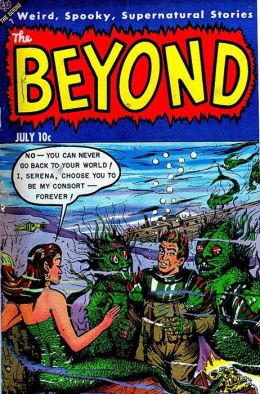 Vintage Horror Comics: The Beyond No. 21 Circa 1953: Werewolf -- Blood On My Hands