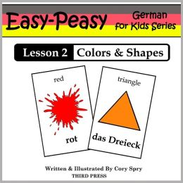German Lesson 2: Shapes & Colors (Learn German Flash Cards)