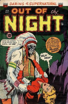 Vintage Horror Comics: Out of the Night No. 8: Numbered for Death & Madman's Manor