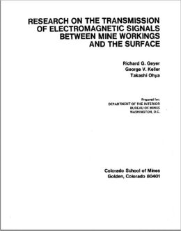 Research on the Transmission of Electromagnetic Signals Between Mine Workings and the Surface