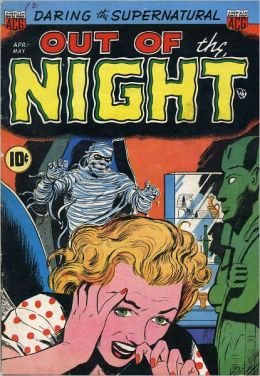 Vintage Horror Comics: Out of the Night No. 2 Circa 1952: Drum of Doom