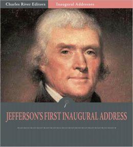 thomas jefferson inaugural address summary
