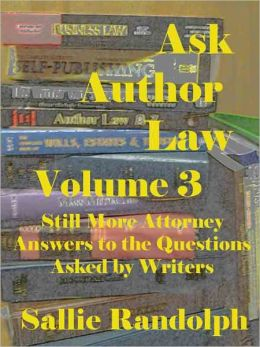 Ask Author Law Volume 3