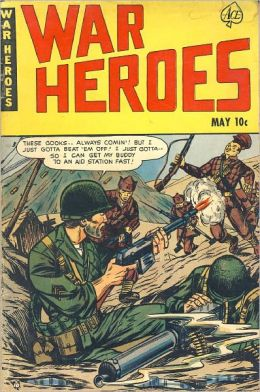 War Heroes comic book number 1