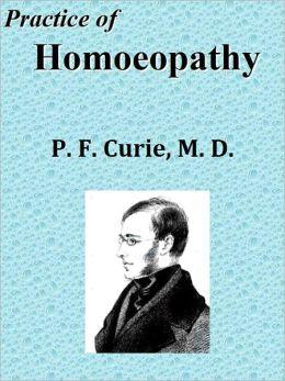 Practice of Homoeopathy
