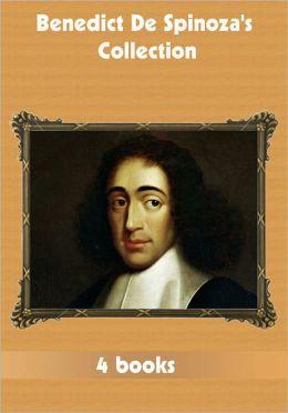 Benedict De Spinoza's Collection [ 4 books ]