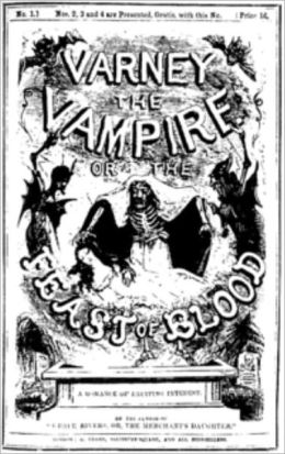 Varney, the Vampire or the Feast of Blood