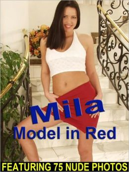 Mila - Model in Red (Nude Girl Pictures)