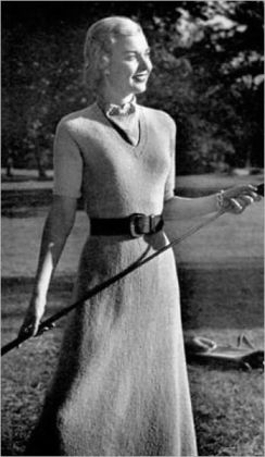 Knitting Patterns Just for the Ladies – 4 Vintage Knitting Patterns Just for Women