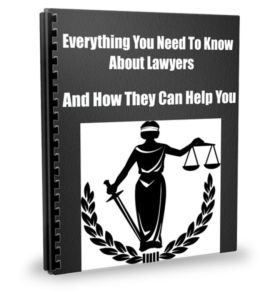 Everything You Need To Know About Lawyers And How They Can Help You