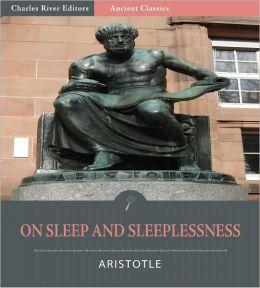 On Sleep and Sleeplessness (Illustrated)